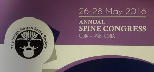 Spine Congress 28 May 2016