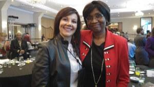 Dr Janette Minnaar and Prof Stella Nkomo